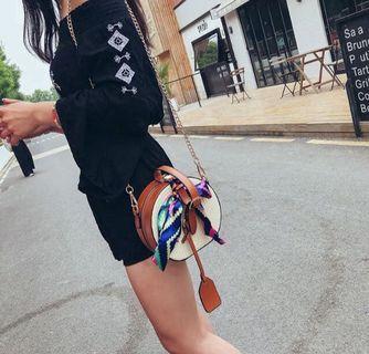 Korean Bag Women Handbag Travel Essential Simple Bag