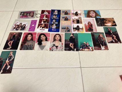 Blackpink fansurport stickers /photocards / photostrips urgently need to clear
