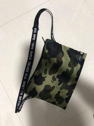 BAPE x PORTER sacoche sling bag 1st camo