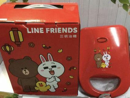 Line friends 三明治機(伊瑪 IW-762)
