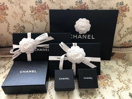 Chanel各式禮盒