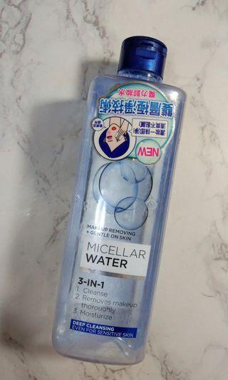 🚚 L'ORÈAL三合一卸妝潔顏水(深層潔淨型)400ml
