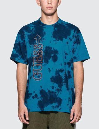BNIP 88 Rising X Guess- Tye Dye Blue Tee