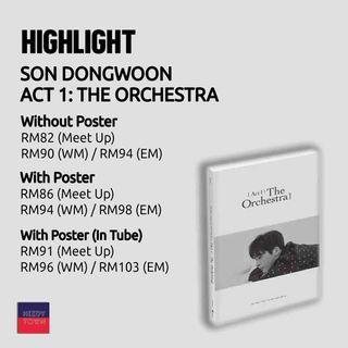 (PRE-ORDER) SON DONGWOON - ACT 1 : THE ORCHESTRA