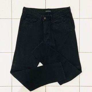 Uni Qlo Jeans Black