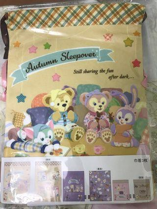 東京 迪士尼海洋 Duffy Shelliemay Autumn Sleepover 布袋