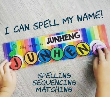 Spell-My-Name (Learning Resource)