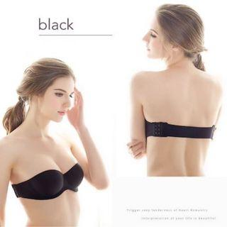 Seamless Bra Black