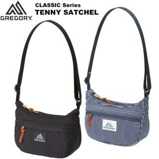 Gregory Teeny Satchel Blue white Hickory stripes 3litres preorders