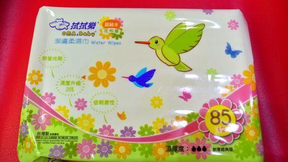 🚚 拭拭樂濕紙巾12包