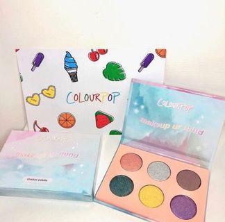 🙋♀️最新特價[現貨不用等]colourpop最新六色眼影盤makeup ur mind