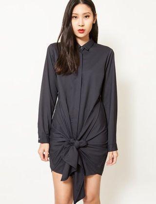 Feist Heist Black Classic Twist Dress