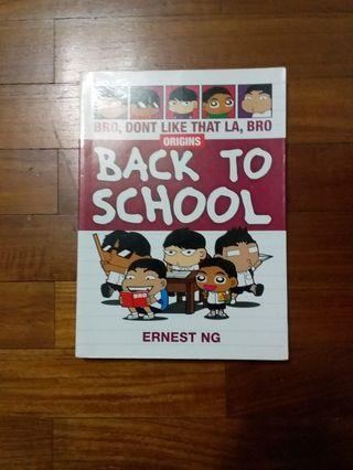 """Back To School"" Comic book"