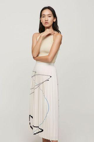 Our Second Nature OSN Trail Pleated Skirt