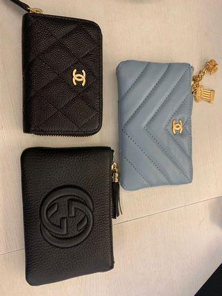 Chanel Gucci  零錢包 收納包