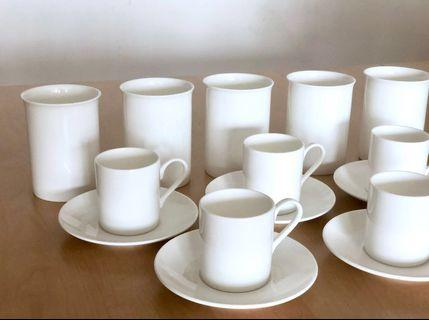 Fine Bone China Designer Coffee/Expresso Cups