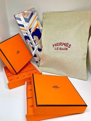 Hermès perfume / bag set / voyage