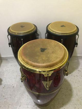 Latin Percussion Congas 3 Piece (Can Be Sold Separately)