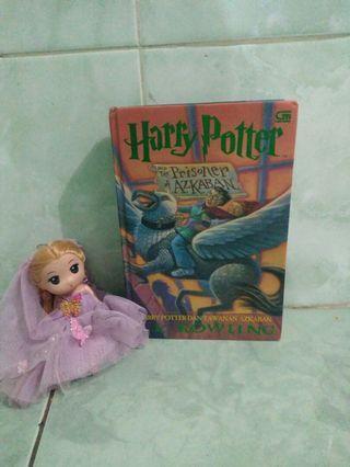 Hard Cover Harry Potter 3 Prisoner of Azkaban Tawanan Azkaban