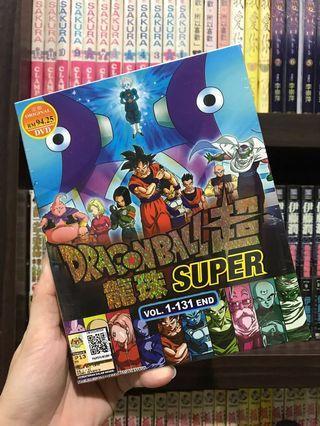 DRAGON BALL SUPER 龙珠超 VOL. 1 - 131 END (11DVD).