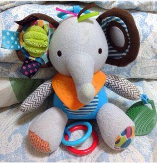 🚚 嬰幼兒多功能大象玩偶(二手)已下訂