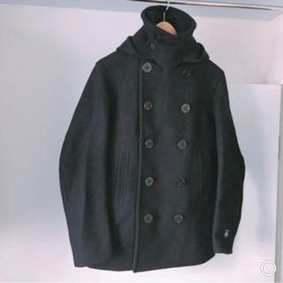 ORCIVAL wool black coat  🈹♻️