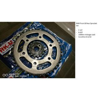 RKM Sprocket Set (F15/R43)
