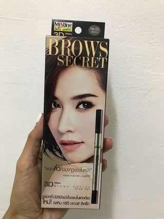Mistine - 3D Brows Secret