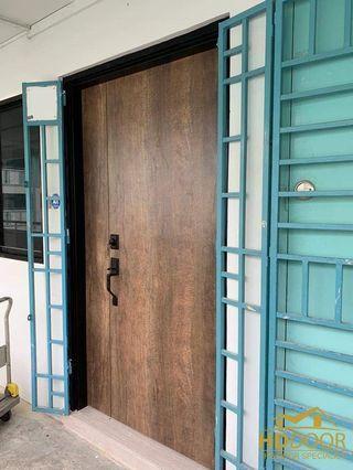 🚚 Laminated main door