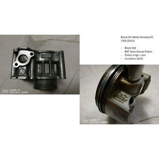 Block Std Ori Moto Yamaha FZ 150i (2015) + BRT Piston Semi Dome