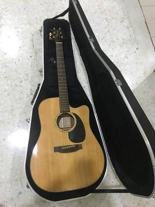 Takamine G Series Acoustic Guitar (with plugin and preamp)
