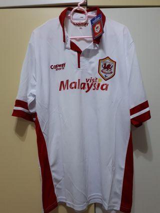 Cardiff city fc away jersey, original,BNWT