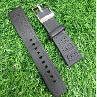 Breitling Caoutchouc Rubber Strap ( 100% Authentic )
