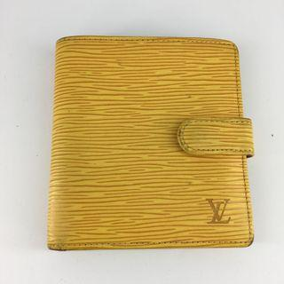 LV Wallet Louis Vuitton 銀包 Epi 黃色