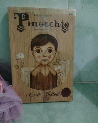 Novel the Adventures of Pinocchio Petualangan Pinokio by Carlo Collodi