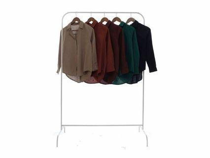 Plain Linen Shirt (Maroon, Milo, Green)