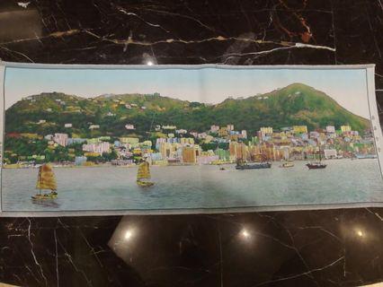 罕有80年代杭州織布香港全景。