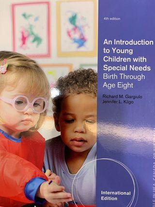 An Introduction to Young Children with Special Needs (Birth Through Age Eight) 4th Edition