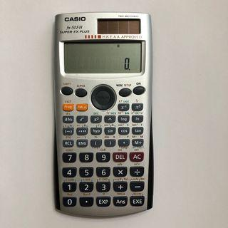 Casio fx-50FH 計數機