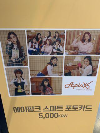 APINK 8th Anniversary Pop Up Store Smart Photocard