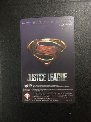 Superman Beep Card super limited edition