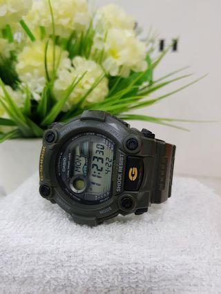 Army Green G-Shock Watch