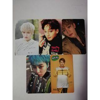EXO OFFICIAL PHOTOCARDS
