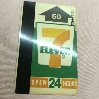 7-11 便利店 儲值卡 儲值咭