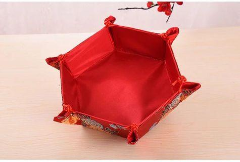 六角形糖果盤 婚後物資