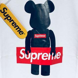 歐洲 Supreme Bearbrick XL 只有一件 正版 正版 正版