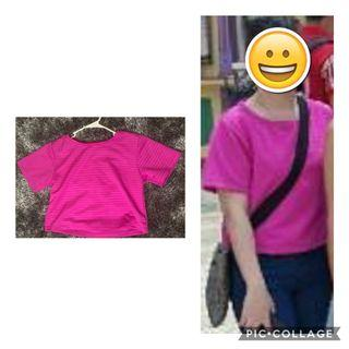 Pink top - fits S body frame