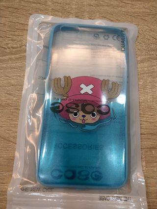 IPhone 6plus 6s plus 保護殼 清水殼 海賊王 喬巴 透明殼 非空壓殼