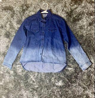 Demim shirt - Fits S-M body frame, never used