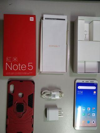 9新 紅米note5  AI雙鏡頭3G/32G 4000mAh 大電力 小米 asus可參考
